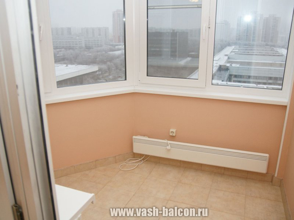 Услуги по внутренней отделке балконов